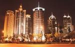Una veduta di Shangai...